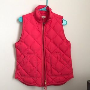 J. Crew factory down puffer vest. Size S